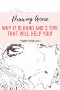 is drawing anime hard?