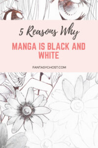 Why is manga black and white?